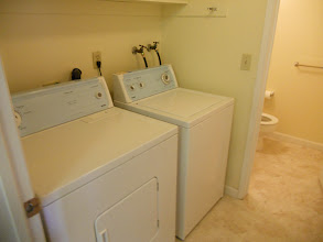 Photo: Laundry Room with Washer/Dryer