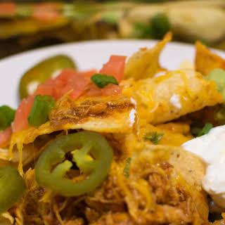 Homemade Chicken Nachos/Easy Nachos.