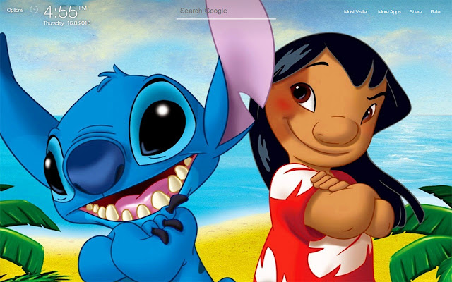 Lilo And Stitch Wallpapers FullHD New Tab