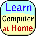 learn computer at home icon