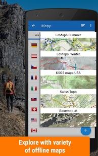 Locus Map Free - наружная GPS-навигация и карты Screenshot