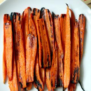 Honey Ginger Roasted Carrots Recipe