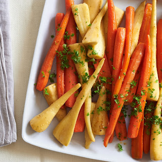 Stovetop-Braised Carrots and Parsnips