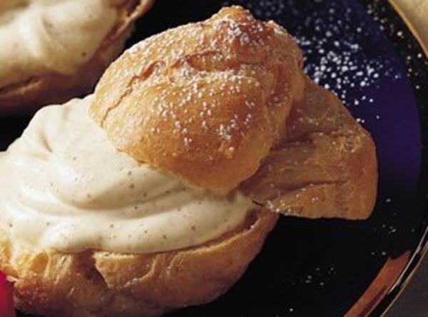 Classic Eggnog Cream Puffs Recipe