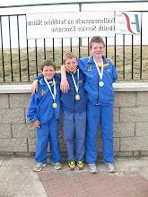 Photo: Jack, David & Daniel Ryan from Moycarkey Borris