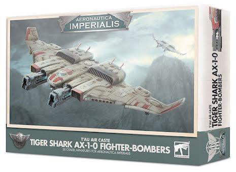 AI: TAU TIGER SHARK AX-1.0 FIGHTER-BOMBER