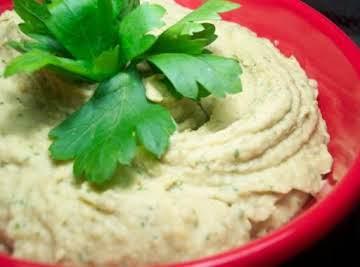 Roasted Eggplant Hummus