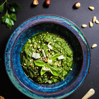 Hazelnut Green Herb Pesto