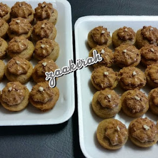 ~ Mini Coffee And Caramel Cuppies ~