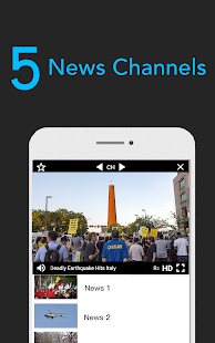 (REST-OF-WORLD ONLY) Free TV Show Apps, News Line! Screenshot