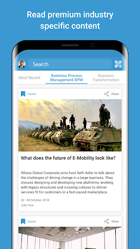 Screenshots des Shared Services Network 6
