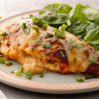Mexican Stuffed Chicken Breasts.