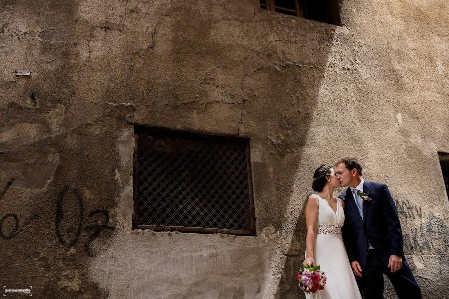 Fotógrafo de bodas Juanjo Campillo (juanjocampillo). Foto del 04.12.2017