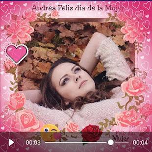 Download Women's day video maker  apk screenshot 2