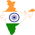 India and All States Map icon