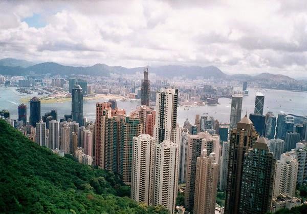 Гонконг в холма