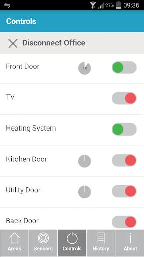 HomeControl+ screenshot 2