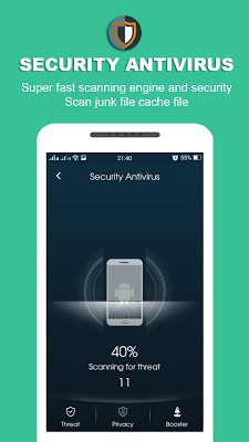 Security Antivirus for Andoid - screenshot