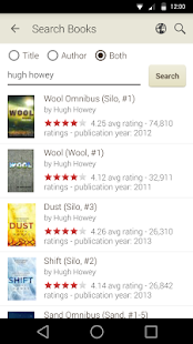 Goodreads- miniatura screenshot