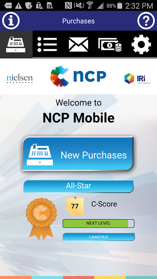 NCP Mobile- screenshot