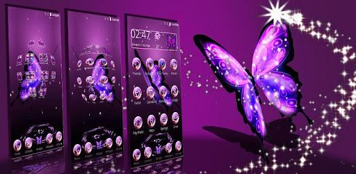 3D Neon Butterfly Theme - Apps on Google Play3d Neon Butterflies