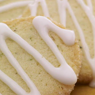 Sugar Rimmed Margarita Cookies