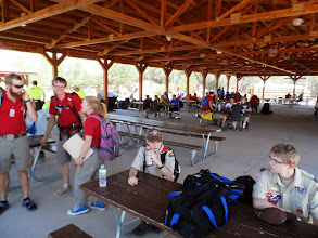 Photo: The Welcome Center at Philmont.