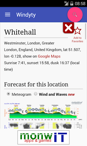 Windyty - Pocket Weather screenshot