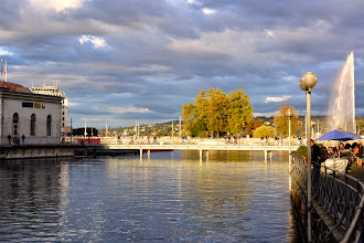 Photo: We return to sunset in Geneva