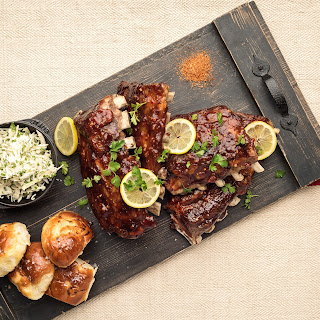 Oven-Roasted Back Ribs.