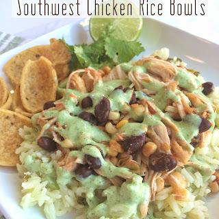 Southwest Chicken Rice Bowls