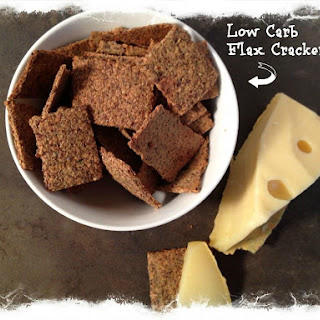 Yummy Low Carb Flax Crackers