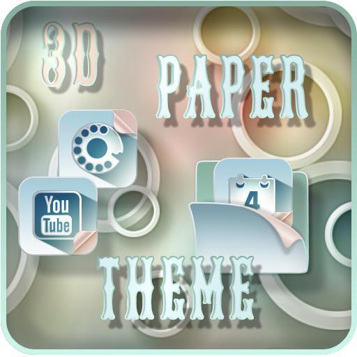TSF NEXT ADW2 Nova Apex LAUNCHER 3D PAPER THEME