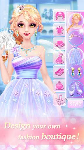 夢幻時尚小店 - 少女換裝模擬經營遊戲
