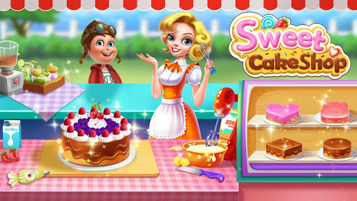 🍰💛Sweet Cake Shop - Cooking & Bakery apklade screenshots 1