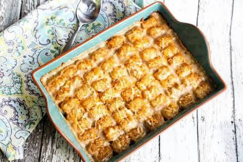 "Too Hot to Tot! Tater Tot Hotdish""Hotdish recipes are popular in the..."