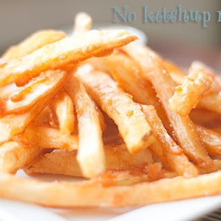 Crispy Battered French Fries.
