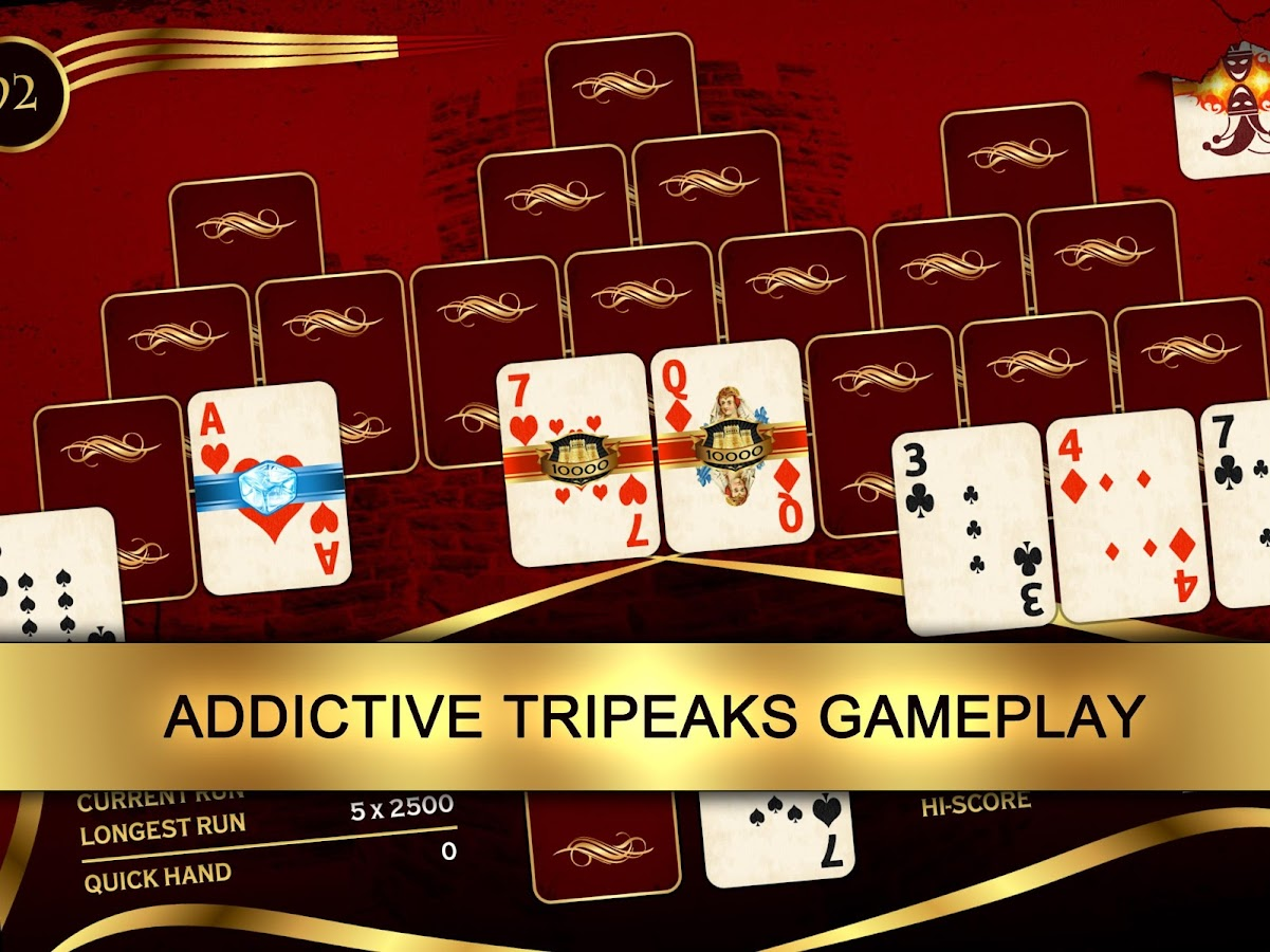 Towers: Tri Peaks Solitaire- screenshot