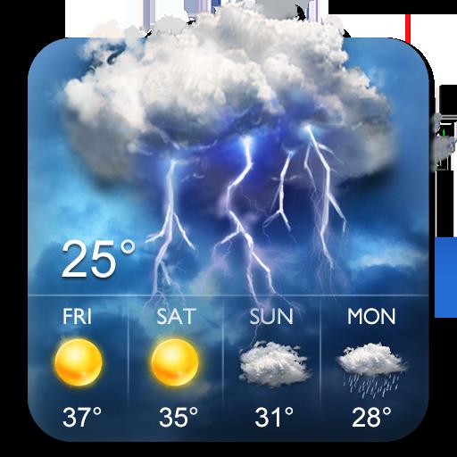 local weather updates daily forecast widget&app