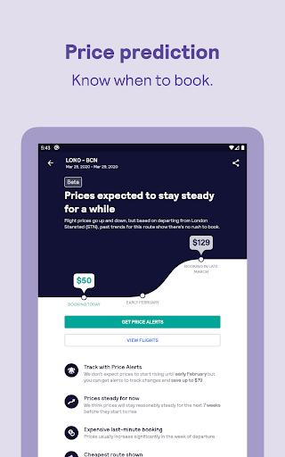 Skyscanner – cheap flights, hotels and car rental screenshot 20
