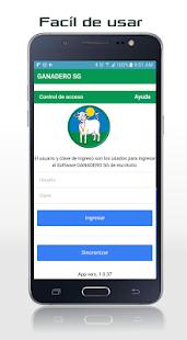 GANADERO App - náhled