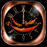 Halloween Wallpaper Clock