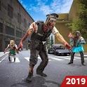 Zombie Attack Games 2019 - Zombie Crime City icon