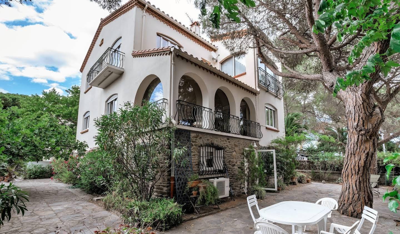 Villa en bord de mer avec jardin Argeles plage