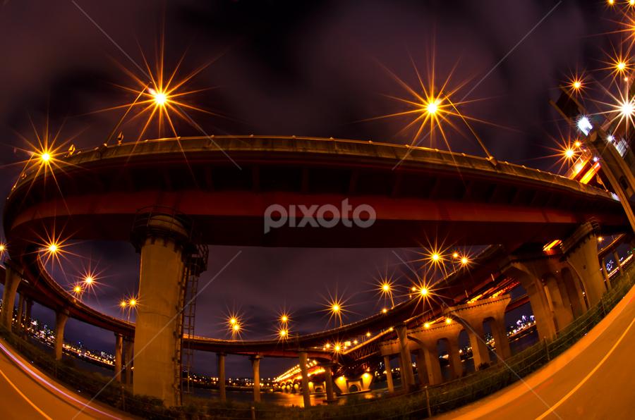 songsan bridge by Ryo SiNaga - Buildings & Architecture Bridges & Suspended Structures