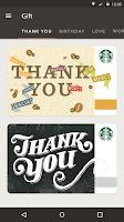 Screenshot of Starbucks