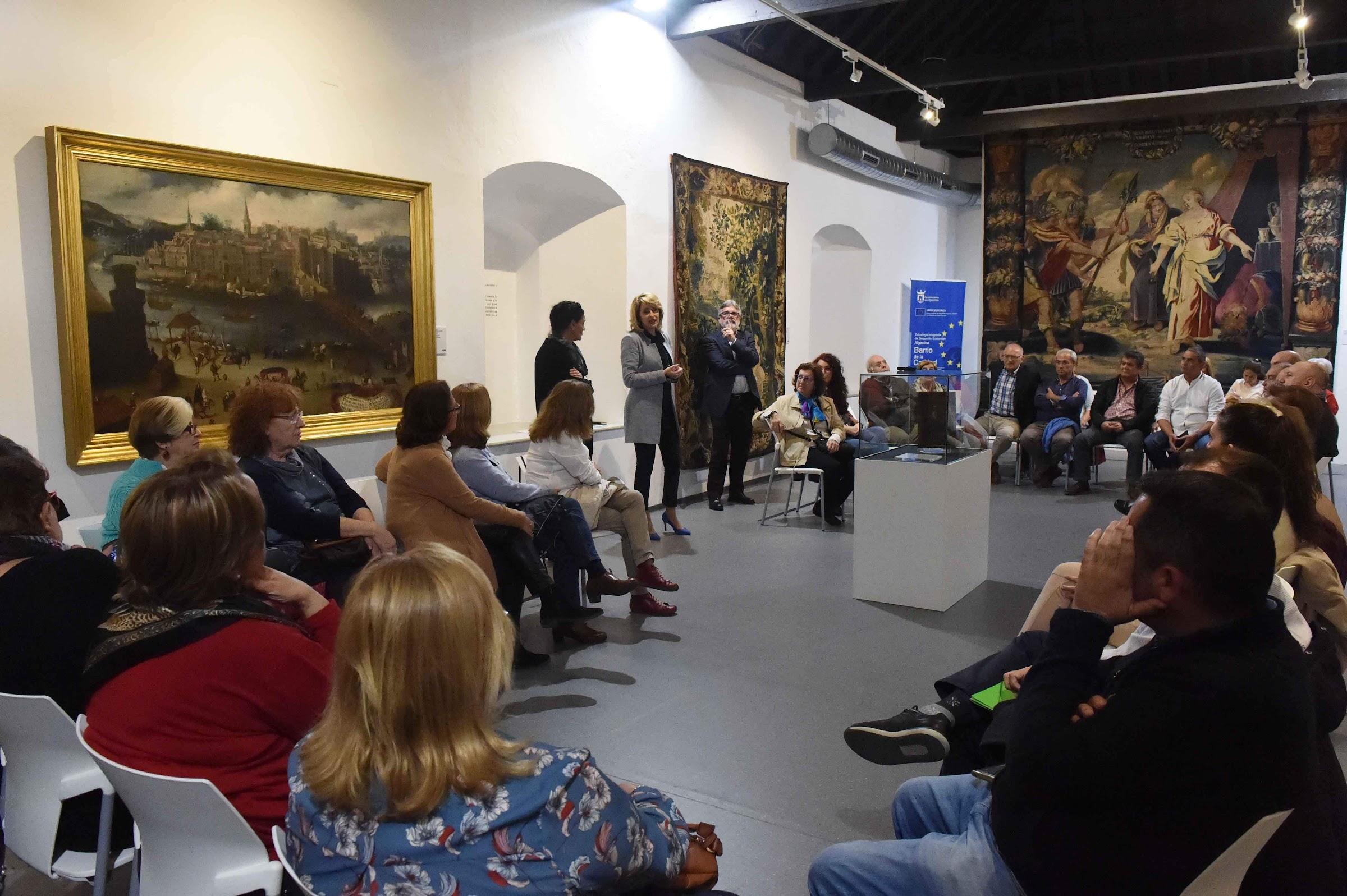 """Continúa en el Museo Municipal el ciclo de conferencias """"Obras con voz"""""""