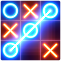 Tic Tac Toe glow - Puzzle Game icon