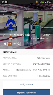 eParkomat Screenshot