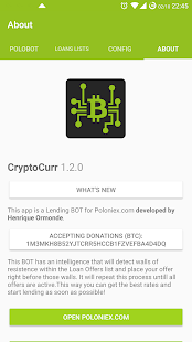 CryptoCurr PoloBOT Lender- screenshot thumbnail